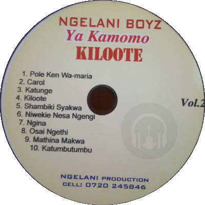 Volume 2 by Kamomo Mweene
