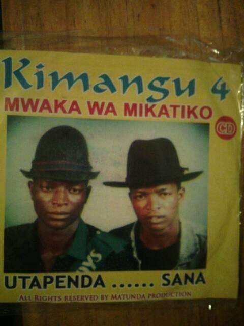 Kimangu Volume 4 by Kijana