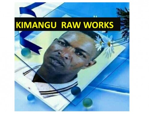 Kimangu Raw works (1987-1990) by Kijana